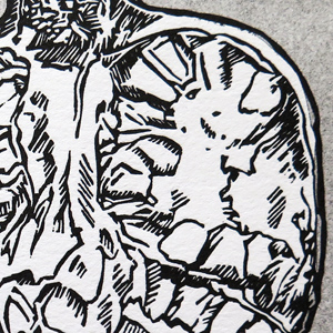 Grenade-linocut-Linographic-nb2